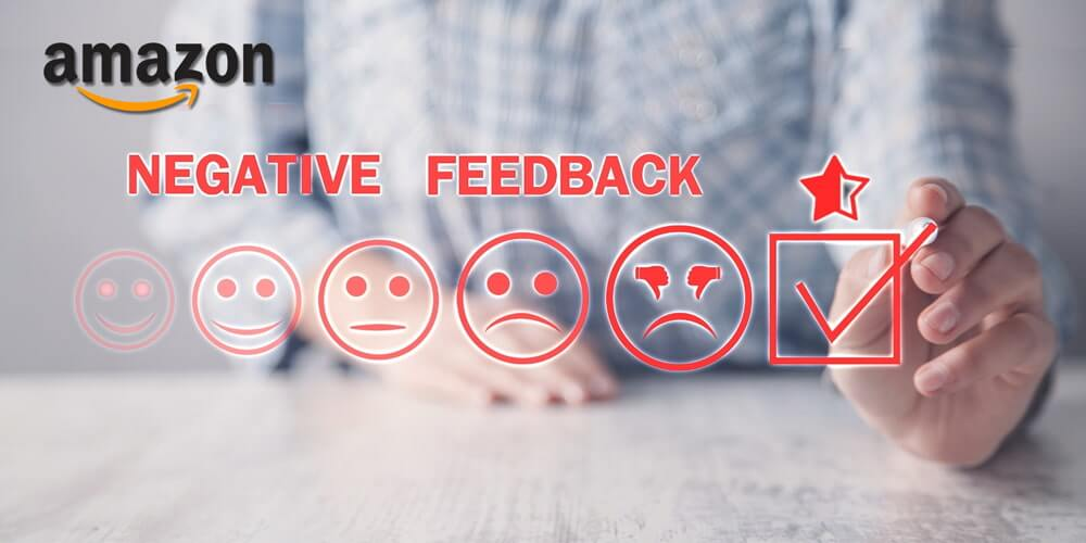 Removing Negative Feedback on Amazon