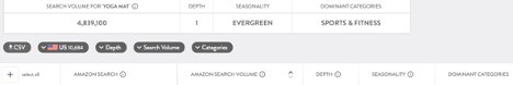 Merchant Words search page example